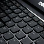 Dell Vostro V131 keyboard angle