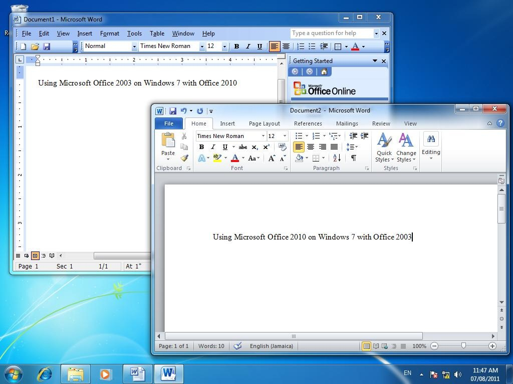 How to create a side by side installation with different - Latest version of office for windows ...