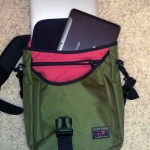Tom Bihn Ristretto 13 with Tablet and Notebook