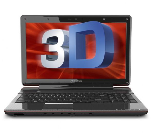 Toshiba Qosmio F755 3D Display