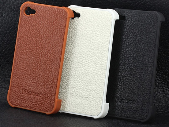YooBao Slim Leather Snap On Case
