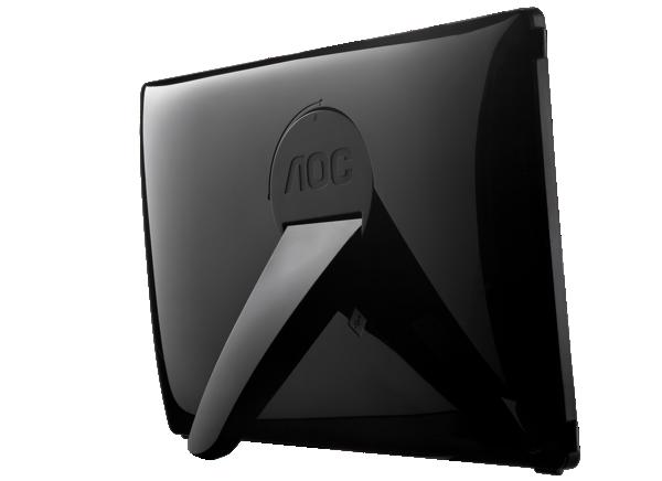 AOC USB Monitor e1649fwu Backside landscape