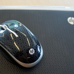 HP Pavilion dm1 - soft-touch imprint finish and matching mouse