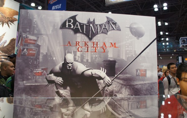 Batman Arkham City at New York Comicon