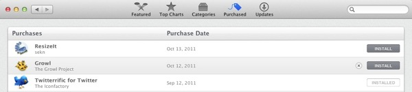 Remove Purchased Apps from History in App Store