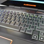 Alienware M17x keyboard review