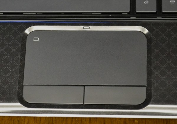 HP DV 4T Touchpad
