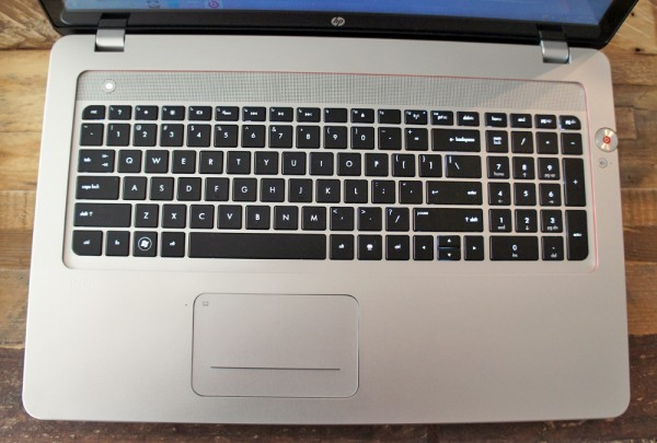 HP Envy 17 keyboard