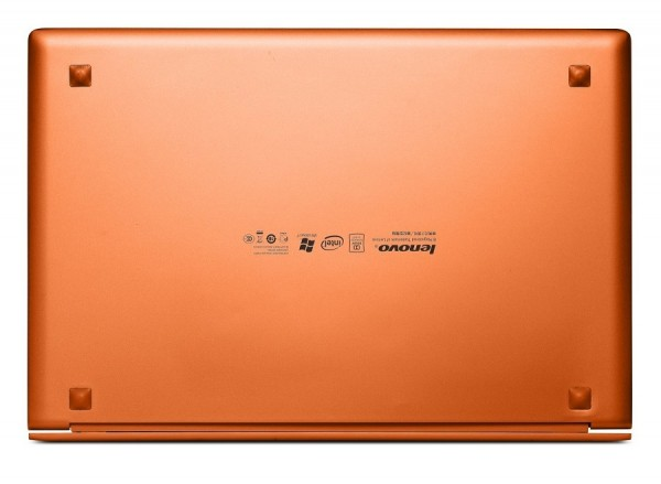Lenovo IdeaPad U300s - bottom
