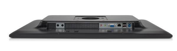 HP Compaq L2311c  Ports