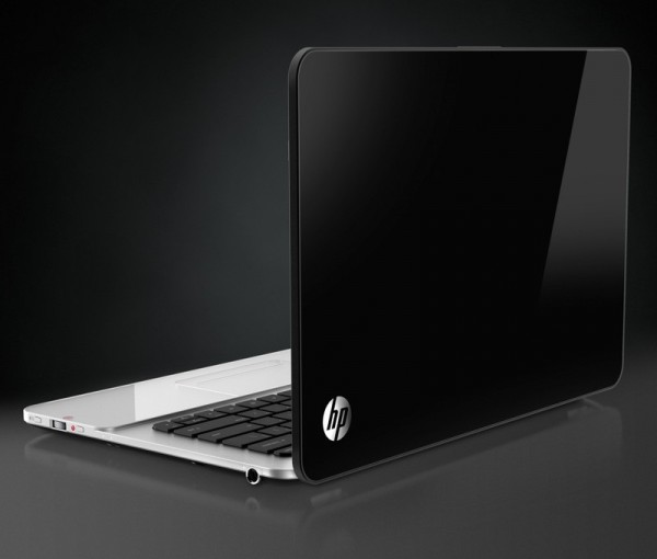 HP Envy SPectre 14 back angle
