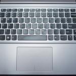 Lenovo IdeaPad U400 keyboard and touchpad