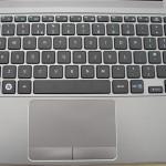 Samsung Series 5 Ultrabook -- keyboard