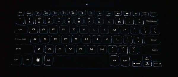 Dell XPS 14z backlit keyboard
