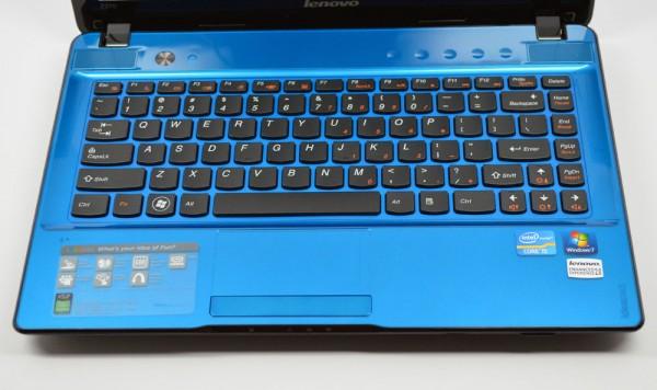 IdeaPad Z370 Review keyboard