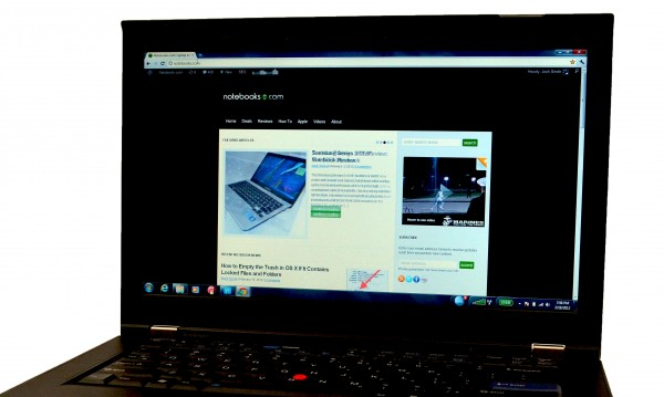 ThinkPad T420s Review Display Close