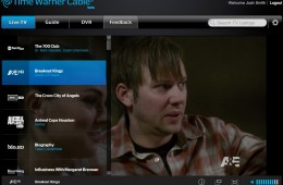 Time Warner Cable for Notebooks Live TV