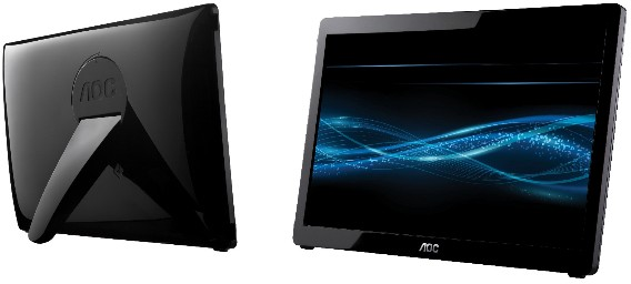 "AOC usb powered 16"" display"