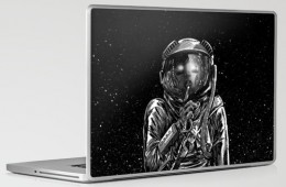 The Secrets of Space Laptop Skin