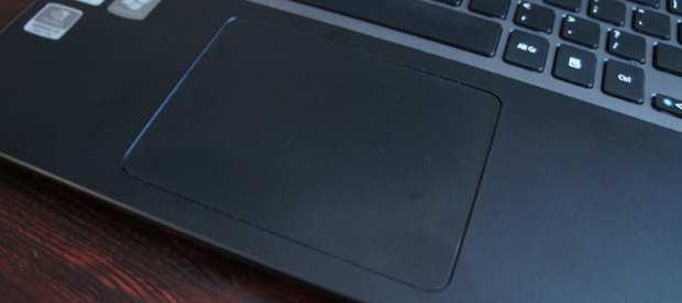 Acer Aspire Timeline Ultra M3 touchpad
