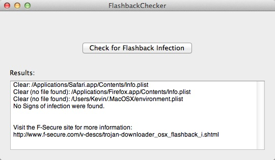 Flashchecker
