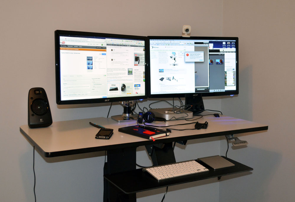 Ergotron WorkFit D Review Nearly Perfect Sit Stand Desk