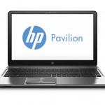 HP Pavilion m6 front silver