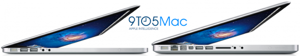 mockup of thinner MacBook Pro from 9to5mac