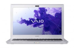 Sony VAIO T Ultrabook head on