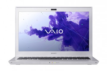 Sony VAIO T Ultrabook head on