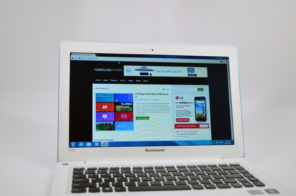 Lenovo U310 Review - display
