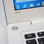 Lenovo U310 Review - hinge