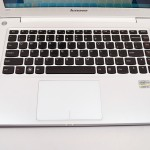 Lenovo U310 Review - keyboard