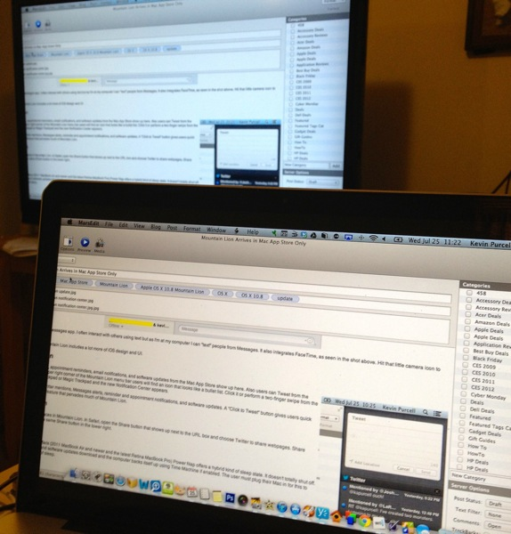 Airplay on mountain lion