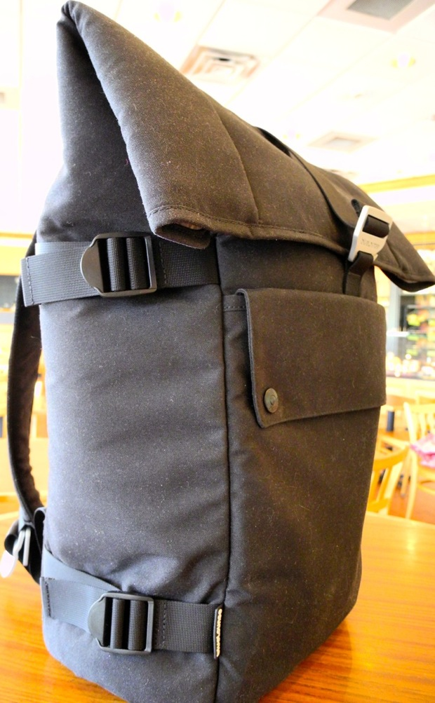 BlueLounge backpack top flap