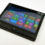 The ThinkPad Twist in Tablet mode.