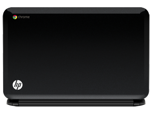 HP Chromebook top