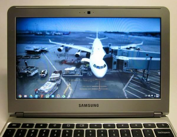 Samsung Chromebook Display