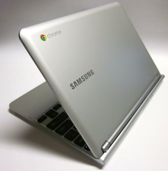 Samsung Chromebook back