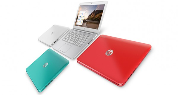 hp chromebook colors