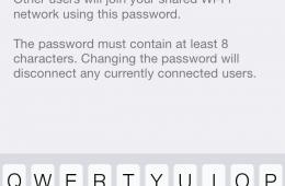 Pick your personal hotspot password.