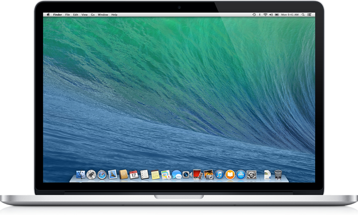osx maverics on macbook
