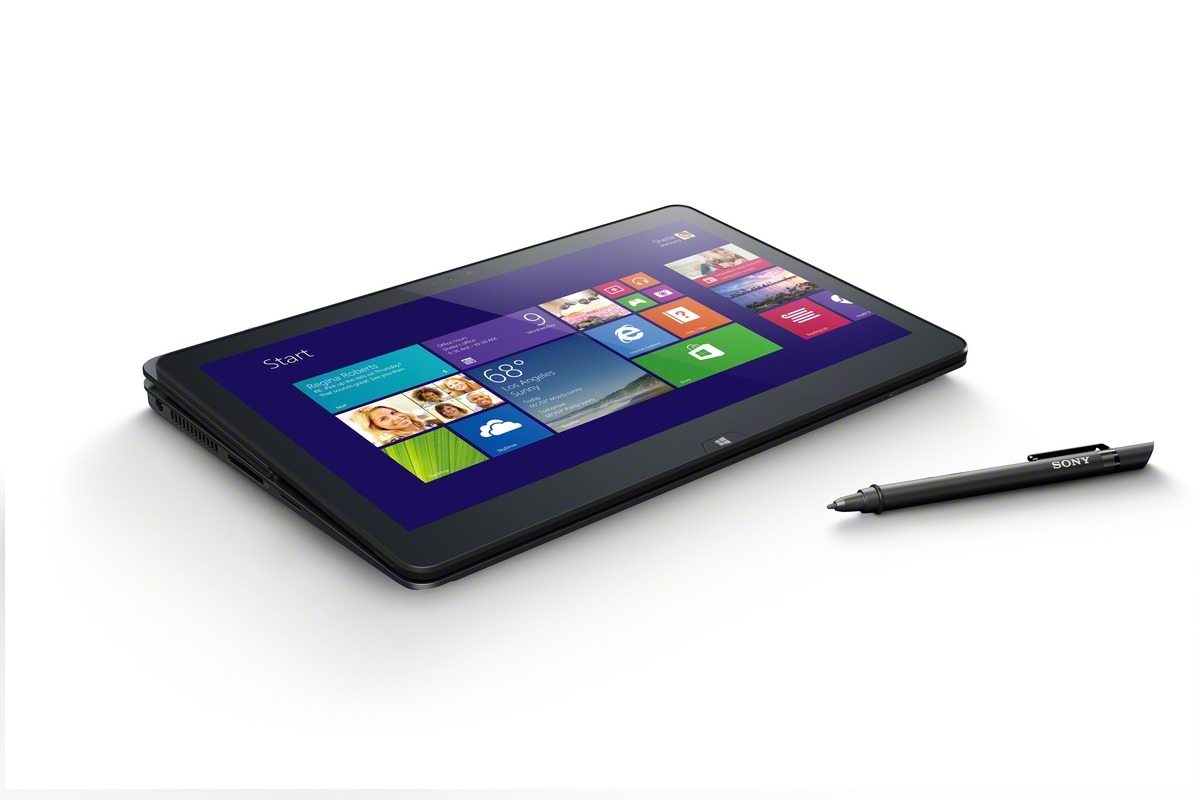 The Sony Vaio Flip 11a is a $800 2-in-1 with a digital pen.