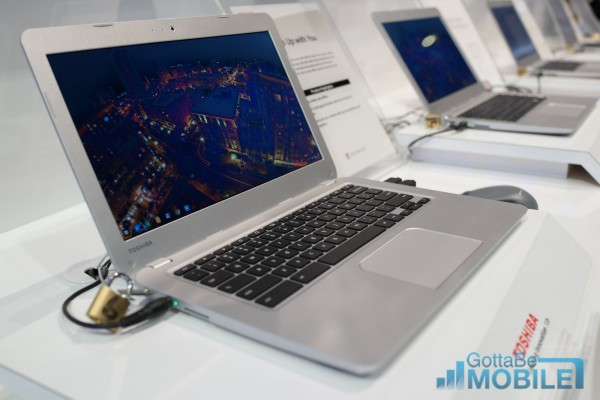 Despite the cheap price, the the Chromebook features a nice display, nice keyboard and large touchpad.