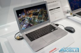 The Toshiba Chromebook 13 is an affordable notebook with Chrome OS.