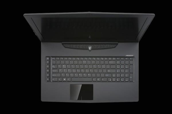 aorus sli gaming laptop x7 keyboard