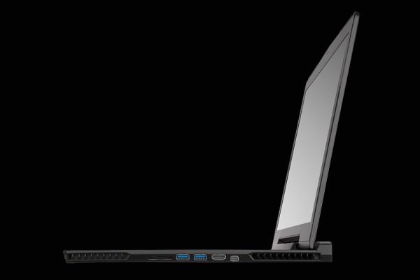 aorus sli gaming laptop x7 right side