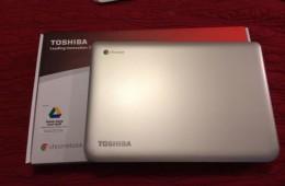 Toshiba Chromebook Unboxing Video