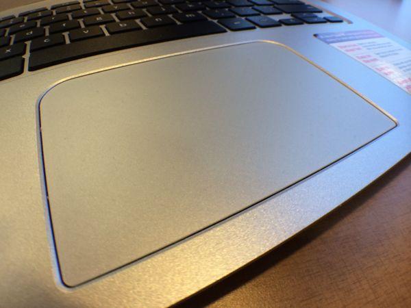 toshiba chromebook trackpad