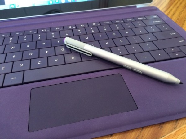 surface pro 3 type cover and stylus